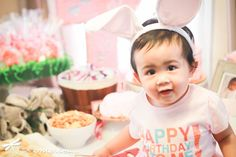 Left On Emerson Photography | Bunny Theme 1st Birthday