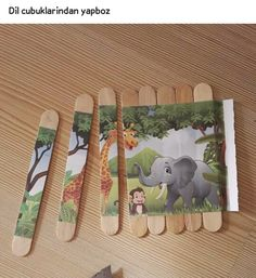 Popsicle Stick Puzzles! Repinned by Therapy Shoppe. #therapyshoppe #finemotor #fun #craft #activitiesforkids