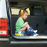 2 in 1 Portable Potty & Trainer Seat we keep one in the car at all times :-) trust me its come in handy MANY TIMES!