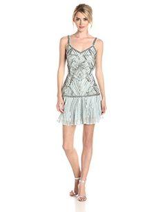 Parker Women's Devany Embellished Dropwaist Dress, Freshw... http://www.amazon.com/dp/B00SSYONEE/ref=cm_sw_r_pi_dp_7R1lxb1K1YZ62