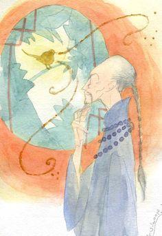 H.C. Andersen The Nightingale, a Japanese Illustrationdollars worth of Scholastic books! #PrimroseReadingCorner #giveaway #Pinittowinit