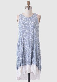 Flowered Path Printed Dress