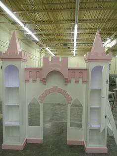 NEW CUSTOM GIANNA'S DREAM CASTLE BED #CAROLINADREAMSCUSTOMDESIGNS