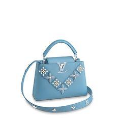 Products by Louis Vuitton: Capucines BB Best Handbags, Luxury Handbags, Fashion Handbags, Louis Vuitton Jewelry, Louis Vuitton Store, Christian Louis Vuitton, Bag Accessories, Purses And Bags, Shoulder Bag