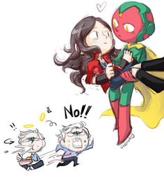 hawkeye: Pietro get up! Quicksilver: … Hawkeye: Pietro Pietro Quicksilver: … Hawkeye: your sister and vision… Quicksilver: Shit! What happened??!!