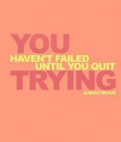 Never. Give. Up. #motivation