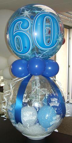 #Verpackungs-Ballon zum 60ten #Geburtstag