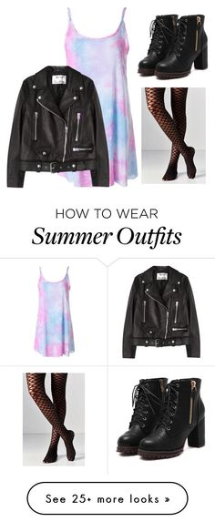 "Collection Of Summer Styles    ""Pastel Grunge Outfit"" by keepitgrunge on Polyvore featuring Out From Under and Acne Studios    - #Outfits"