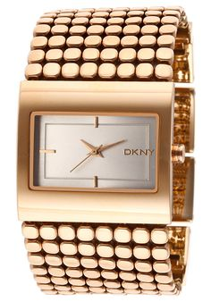 Women's Silver Dial Gold Tone Stainless Steel