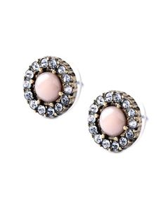 Last True Angel vintage pink studs