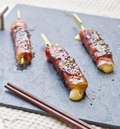 Yakitori mi-Japonais, mi-Auvergnat au Cantal & Jambon d'Auvergne - Cuisine Addict