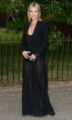 Kate Moss at the Serpentine Gallery Summer Party 2013