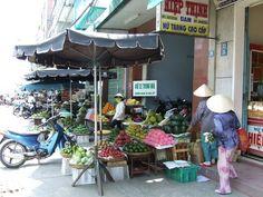 Da Nang Street Market in Da Nang,Vietnam