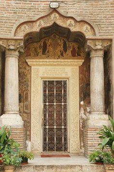 Bucharest, Romania by Eva Grand Entrance, Entrance Doors, Doorway, Cool Doors, Unique Doors, Portal, Door Knockers, Door Knobs, Porches