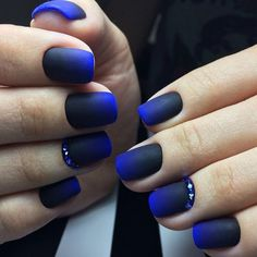 57 Best black and blue nails images in 2017
