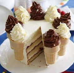Pastel de helado