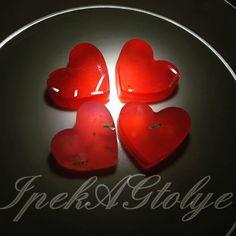 Mini kalpler ❤❤❤❤ Renk seçeneği : Var ✔ Koku seçeneği: Var ✔  Yalnizca mail yoluyla iletisim kurabilirsiniz.  #dekoratifsabun #mini #sabun #ipekagtolye #ipekagrt