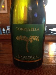 Torresella Prosecco DOC - Light and crisp and rather dry. Fruity and easy to drink.