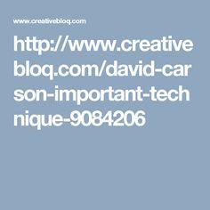 http://www.creativebloq.com/david-carson-important-technique-9084206