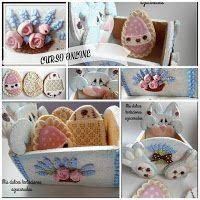 Curso online cajita de galletas para Pascua