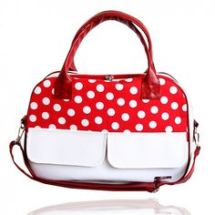 Darabags / BTW ON The Road Mini no. 54 Red and Dots