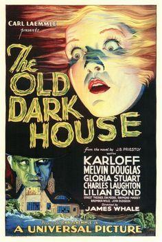 """The Old Dark House"" - James Whale 1930. Boris Karloff"