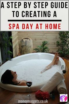 Why not save your money and create your own spa day at home?  This guide will show you how to have spa day at home in style – plus, it will make you feel like a million dollars (as opposed to costing that much!)
