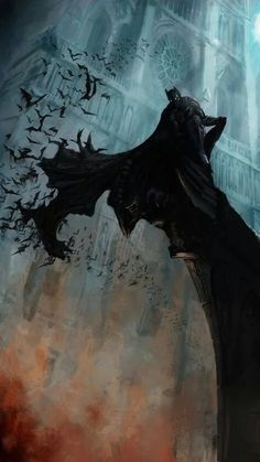 The Batman The dark knight Gotham City Batman Wallpaper, Batman Artwork, Batman Painting, Batman Poster, Batman Comic Art, Le Joker Batman, Superman, Catwoman, Captain Marvel