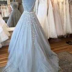 Baby Blue Wedding Dresses, Light Blue Wedding Dress, Baby Blue Weddings, Wedding Dress Brands, Formal Dresses For Weddings, Wedding Dress Sizes, Formal Wedding, Dream Wedding, Dress Formal