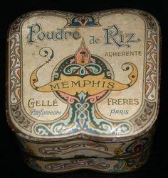 Memphis Type:Rice Powder Material(s):Cardboard Designer/Maker:Gelle Freres Origin:France Date or Era:ca. 1900