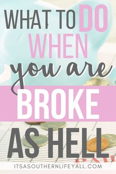 Budget Tips & Tools When you are broke and just trying to make ends meet saving money is tough. Financial Peace, Financial Tips, Financial Planning, Money Saving Challenge, Money Saving Tips, Money Tips, Savings Challenge, Savings Plan, Budgeting Finances