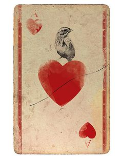 Ace of Hearts by Nuno Magro. Illustration for Book Pack, 2009.