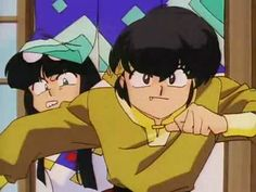 First anime that makes me love anime Ranma 1/2