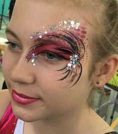 Eye Face Painting, Adult Face Painting, Face Paintings, Face Art, Body Painting, Festival Looks, Fantasy Makeup, Girls Eyes, Face And Body