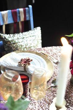 Rose Gold Caviar & Gold Caviar Pillow  @wedmaven