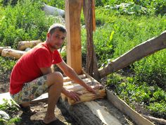 pictures of cordwood homes construction | Cordwood building is moving on! | What Within So Without