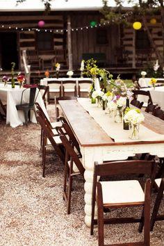 green wedding ideas #ecowedding #greenwedding #outdoorwedding #weddingcenterpiece