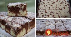 Vynikajúci dezert ku kávičke. Jednoduchý na prípravu a pritom taký vynikajúci, že pokojne schová do vrecka aj náročné torty či zákusky.