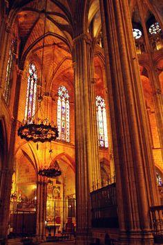 Catedral de Barcelona, Barcelona Spain