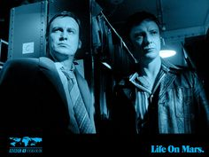 Life on Mars wallpaper with Gene and Sam