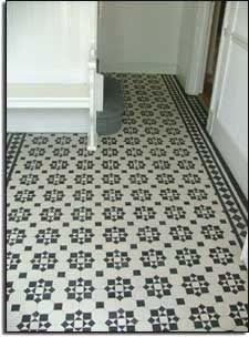 original floor - love the tiles Black White Bathrooms, Black And White Tiles, Grey And White, Entry Tile, Entry Foyer, Kitchen Dining, Dining Room, Home Accessories, Tile Floor