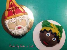 Sinterklaas en pieten taart