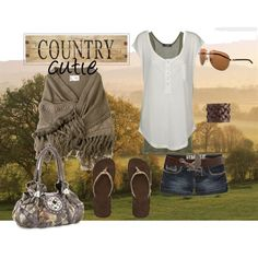 """""""country cutie"""" by xrebelxchildx on Polyvore"""