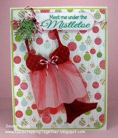 Luv Scrapping Together: A Naughty Little Christmas Card