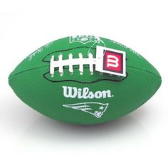 Toss this Patriots Green Rubber Football around in the lake, your pool, or in your backyard! #Patriots
