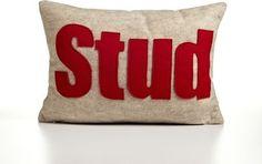 Stud Decorative Pillow modern bed pillows