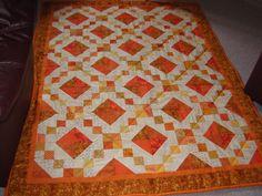 orange tæppe
