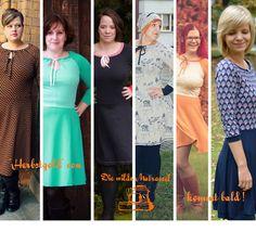 Das neue Kleid Herbstgold von  Die wilden Matrossel