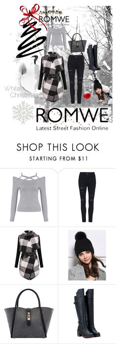 """""""Romwe"""" by minichyna ❤ liked on Polyvore featuring mode et Nearly Natural"""