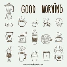 Bullet journal drawing ideas, breakfast doodle drawings. | @lovestudiesz